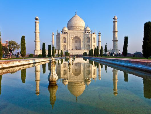 Taj Mahal on a Golden Triangle India Tour