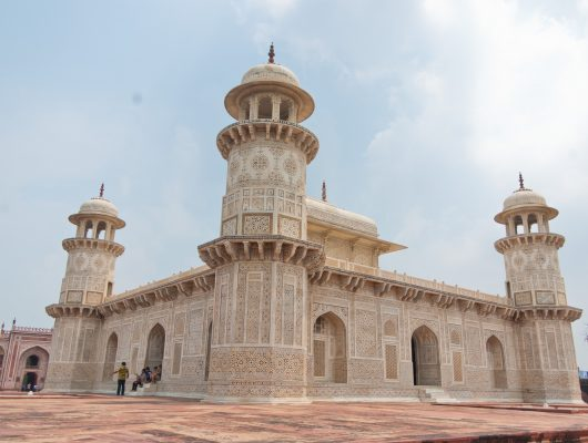 Itmad Ud Daulah's Tomb in Agra on a Golden Triangle India Tour