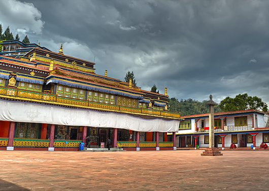 Rumtek Monastery in Gangtok on an India Tour