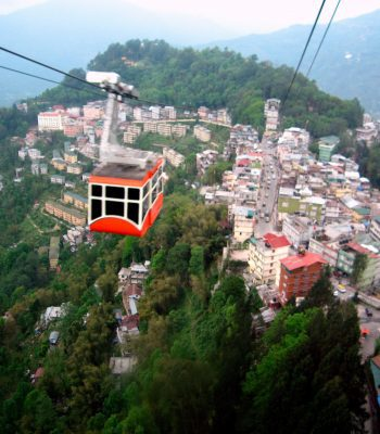 Gangtok Ropeway on an India Tour