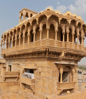 Havelis in Jaisalmer on an India Tour