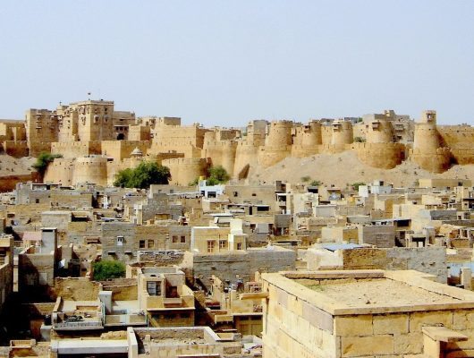 Fort in Jaisalmer on an India Tour