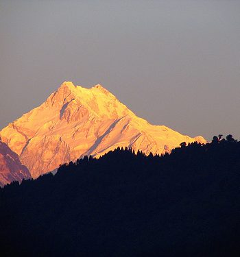 Kalimpong Kanchenjunga on an India Tour