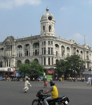 Kolkata (Calcutta) Whiteways and Laidlaw Building on an India Tour