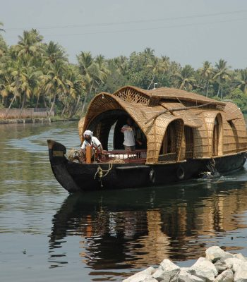 Kumarakom House Boat in Kerala on an India Tour