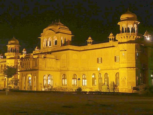 Lalgarh Palace in Bikaner on a Golden Triangle India Tour