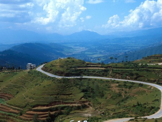 Nepal Landscape on a Nepal and India Tour