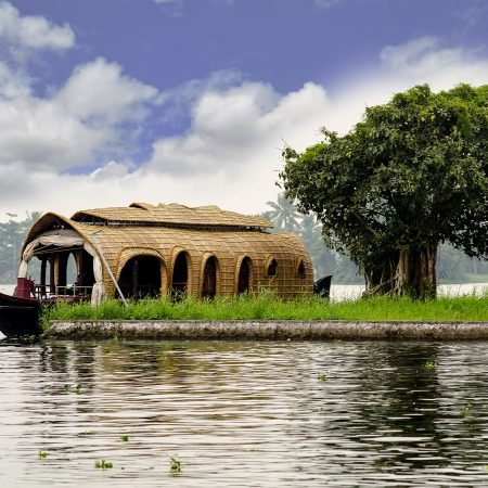 House Boat as Part of Backwaters of Kerala South India Tour