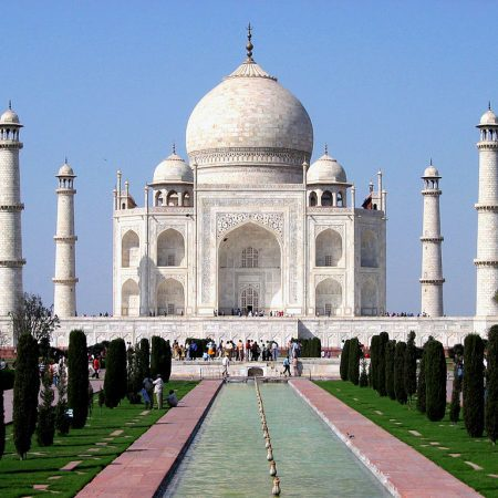 Taj Mahal in Agra on a Golden Triangle India Tour
