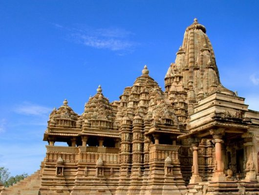 Palace in Khajuraho on a India Tour