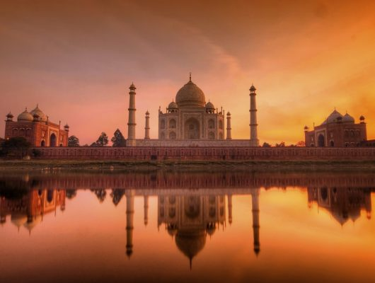 Agra Taj Mahal Sunset on a Golden Triangle India Tour