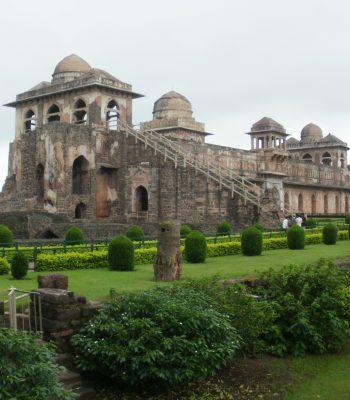 Jahaz Mahal in Mandu on an India Tour