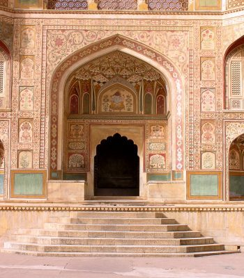 Entrance to Jaipur Palace on a India Tour