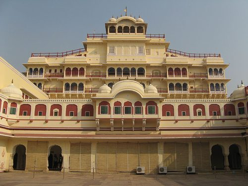 Palace in Jaipur on a Golden Triangle India Tour
