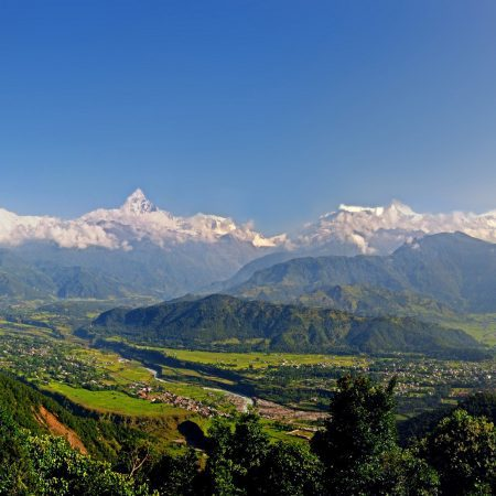Nepal Landscape as Part of a Nepal and India Tour
