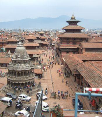 Nepal Bhadgaon Patan Mangal on a Nepal and India Tour