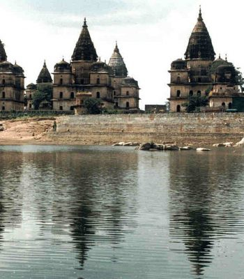 Mausolea Orchha on an India Tour