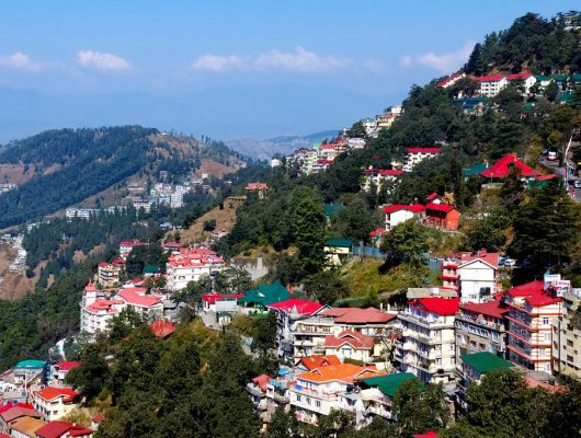 Shimla Landscape on an India Tour
