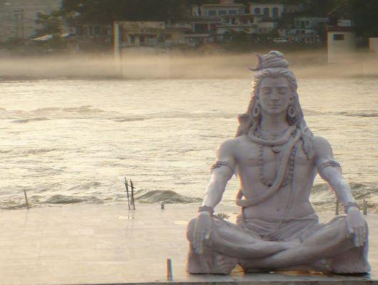 Shiva In Rishikesh on an India Tour