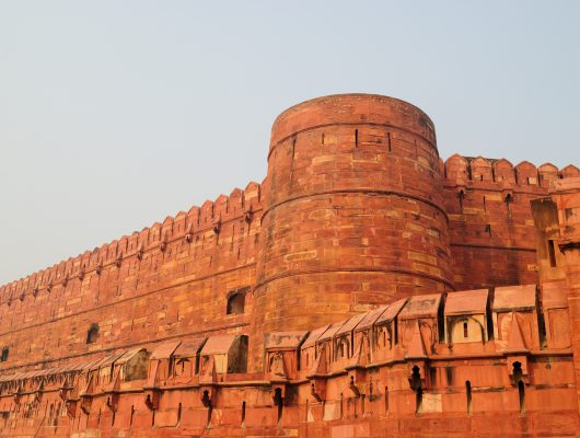 Agra Fort on a Golden Triangle India Tour