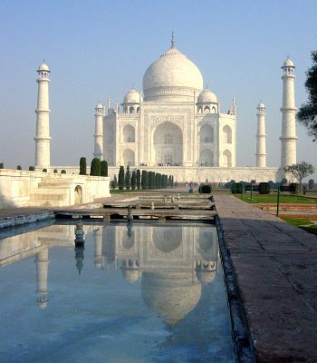 Taj Mahal in Agra on an Indian Tour
