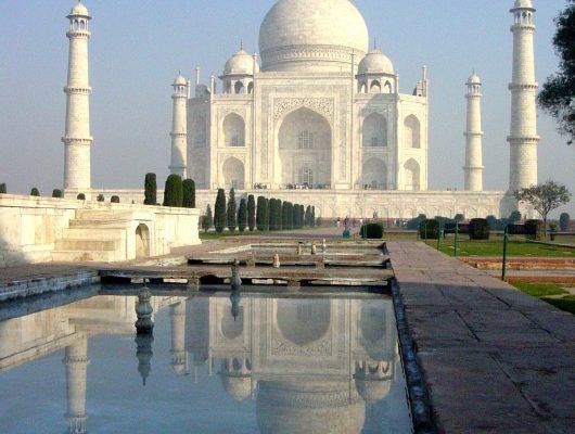 Taj Mahal in Agra on an Indian Tour