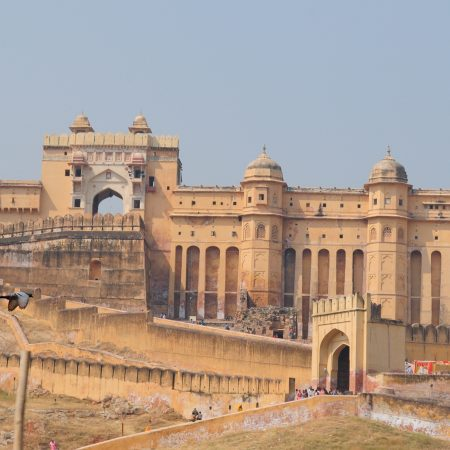 Amer Fort in Jaipur on a Classical India Tour