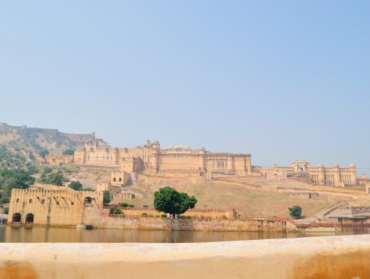 Amer Fort in Delhi on a Golden Triangle India Tour
