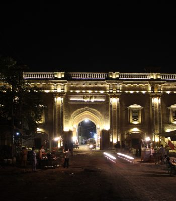 Delhi Gate on a Golden Triangle India Tour