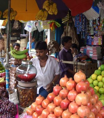 Fruit Stall in Kolkata (Calcutta) on an India Tour
