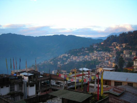 Gangtok City on an India Tour