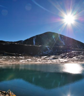 Gurudongmar Lake on an India Tour