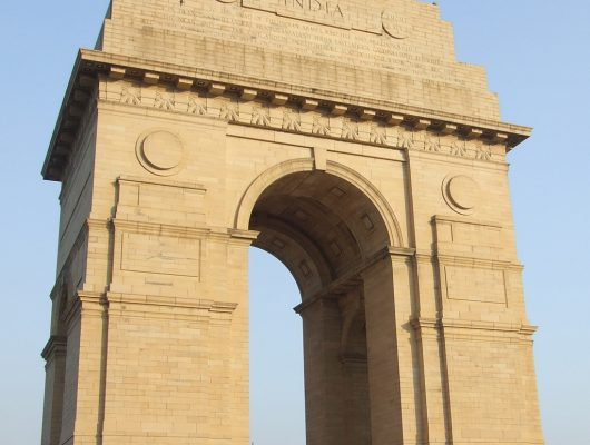 India Gate in Delhi part of a Golden Triangle in India Tour