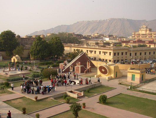 Jaipur Jantar Mantar on a Golden Triangle India Tour