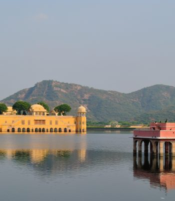Jal Mahal in Jaipur on a Golden Triangle India Tour