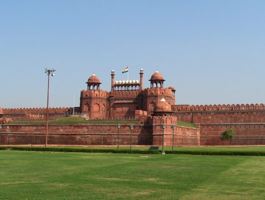 Red Fort in Delhi on a India Tour