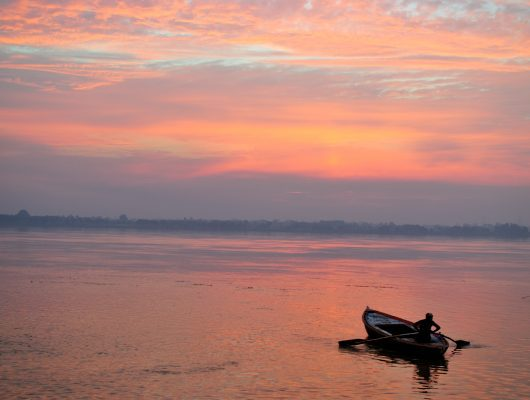 Sunrise in Varanasi on a India Tour