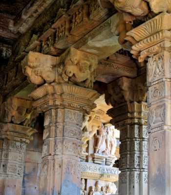 Vishwanath Temple in Khajuraho on a India Tour