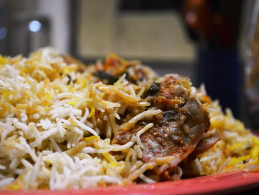 Chicken Biryani from Hyderabad on an Indian Tour