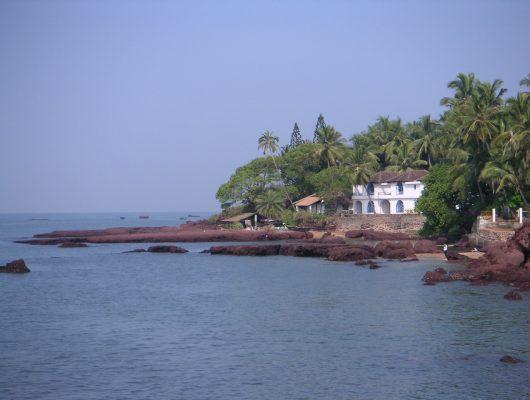 Goa Home on Beach on an Indian Tour