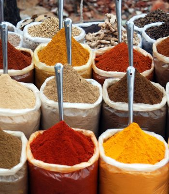 Indian Spices in Goa on an Indian Tour