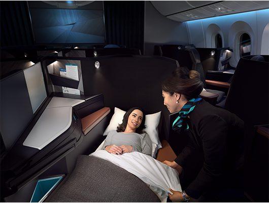 Westjet New Business Class 787 Dreamliner Bains Travel