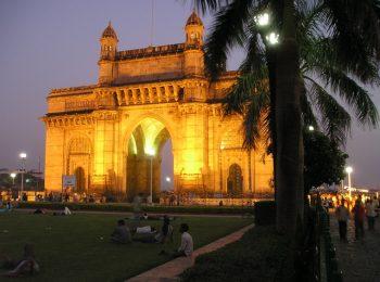 India Tours - Mumbai Gate at Night