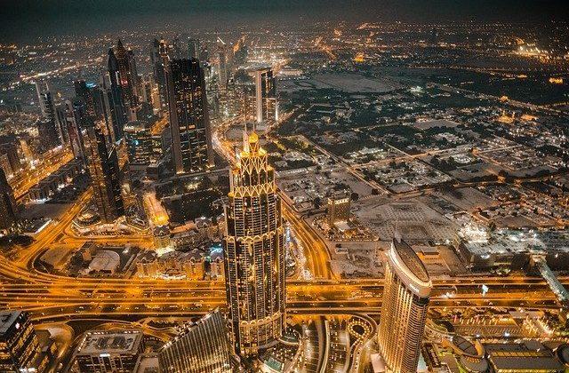 Night Skyline Dubai Tour