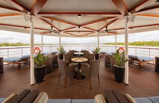 European River Cruise Avalon Saigon Observation Lounge