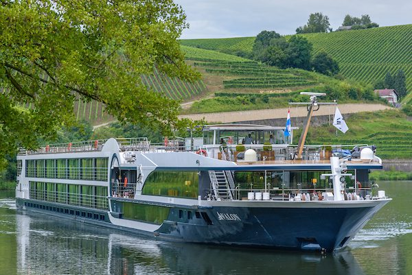 European River Cruise Avalon Ship Exterior