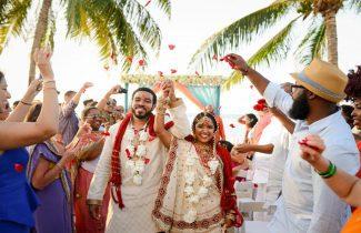 Indian Destination Wedding - Moon Palace - Couple