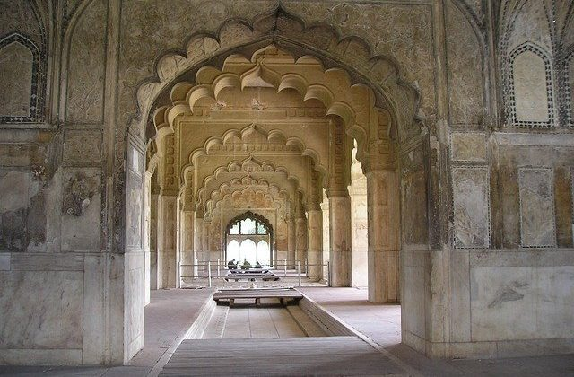 Inside Red Fort Delhi India Tour