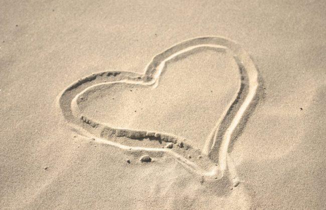 Sikh Destination Wedding - Sand Heart