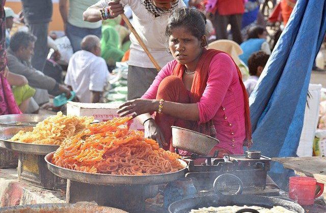 India Tour - New Delhi - Chandi Chowk - Vendor